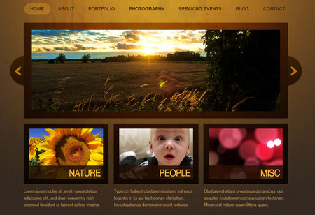 Elegant WebSite Template