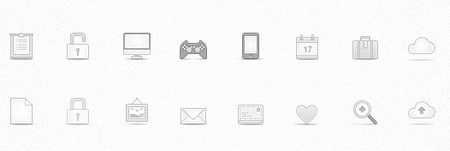 Soft Media Icons Set Vol 1