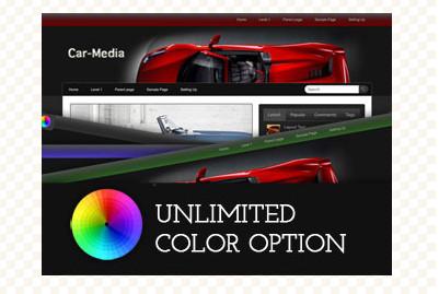 Car-Media WordPress Theme
