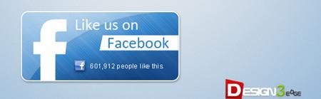Modern Facebook Like Button Pack