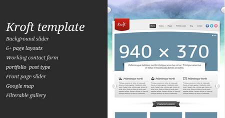 Kroft template (HTML)