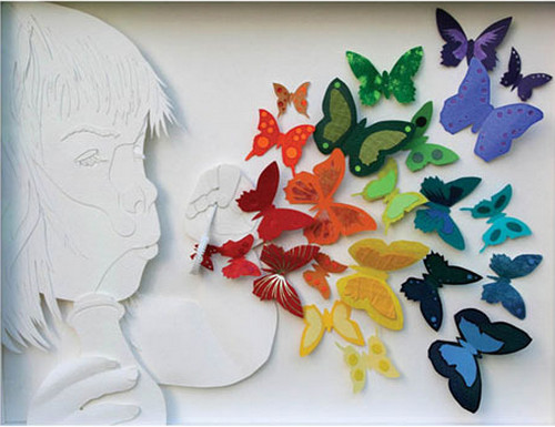 Paper Sculpture for Non-Profit Organization in Illinois