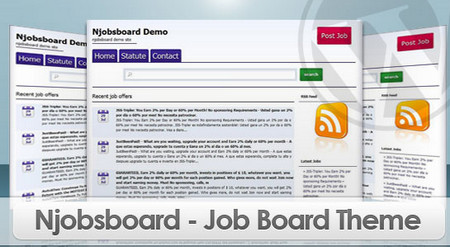 Njobsboard a Job Board Theme