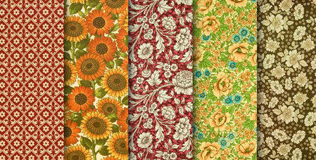 Hi-resolution floral paper textures