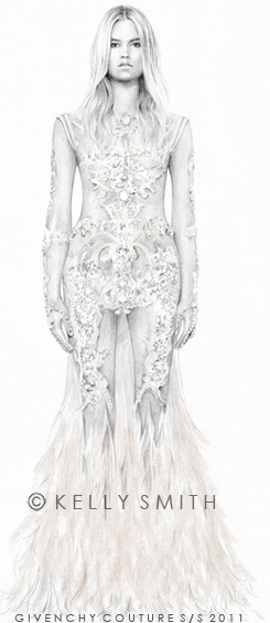 Givenchy Haute Couture S/S 2011