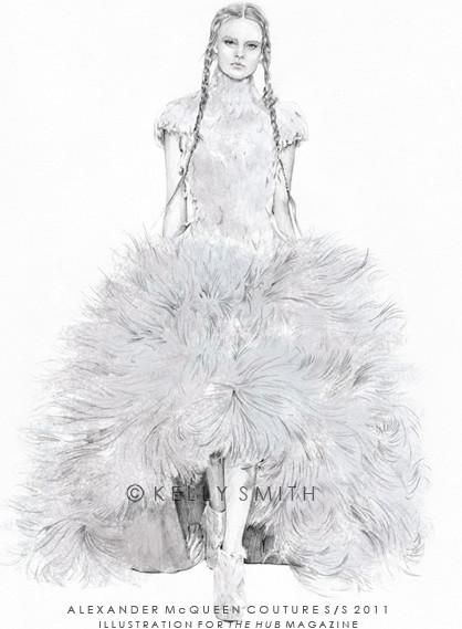 Alexander McQueen Haute Couture S/S 2011