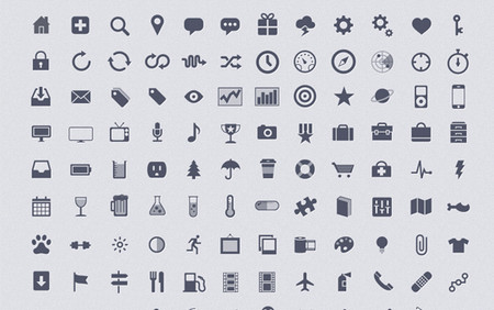 500+ web icons pack for web & graphic designers