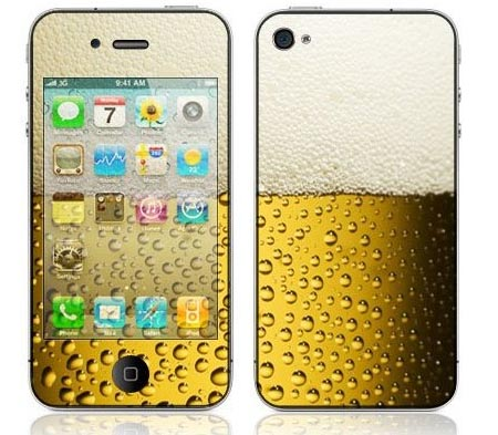 I Love Beer Decorative Skin Cover Decal Sticker