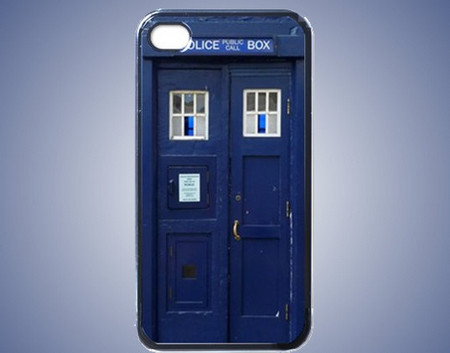 Doctor Who Tardis - Iphone 4 Case Cover