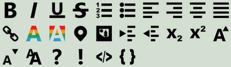 Metro RTE Icons