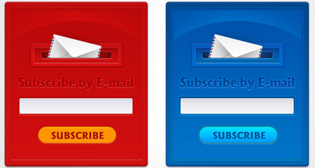 Subscription form design