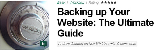 Backing up Your Website: The Ultimate Guide