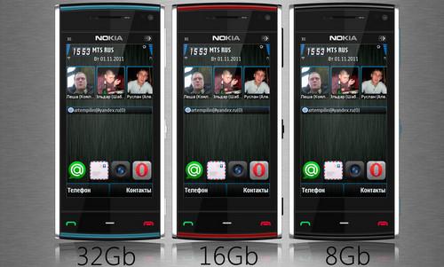 Nokia X6 PSD