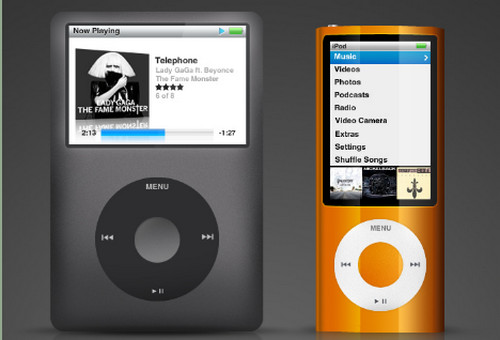 iPod PSD Dual Set