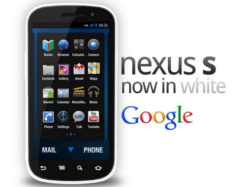 Samsung Nexus S in White