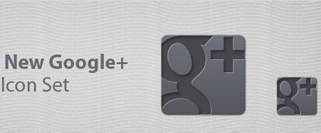 Google+ Free Icon Set