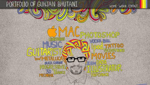Online Portfolio of Gunjan Bhutani
