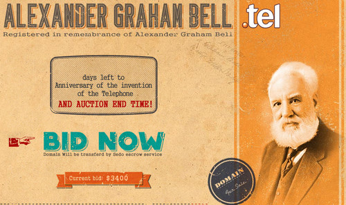 Alexander Graham Bell Auction