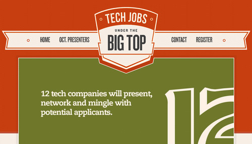 Tech Jobs Under The Big Top