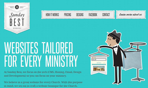 Websites for every Church and Ministry