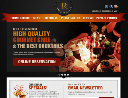 Restaurent web template