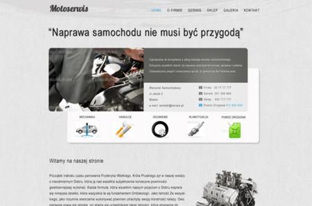 Motoserwis - psd free