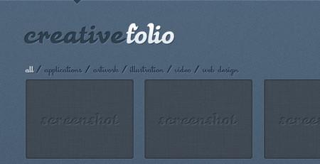 CreativeFolio - Portfolio