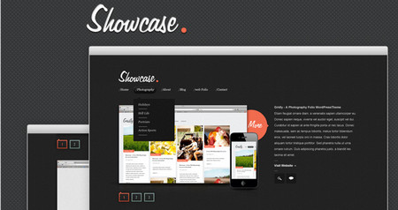 'Showcase' – A nice and simple blog design for all you bloggers out there!