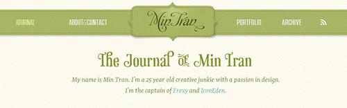 Min Tran`s Journal