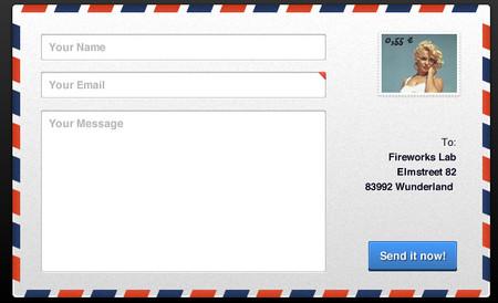Postcard Contactform