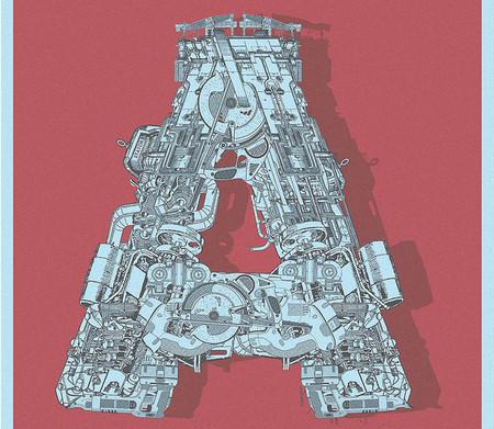 Mekkanika Experimental Typeface