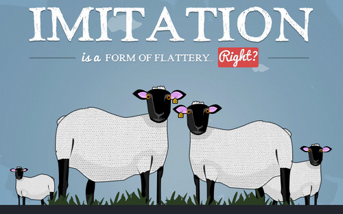Imitation in Web Design - Joey Lomanto