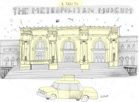Artist draws famous buildings of New York