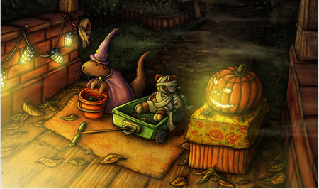 Amazing Halloween Fan Artworks