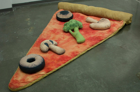 Slice of Pizza Sleeping Bag w/ Veggie Pillows Deposit
