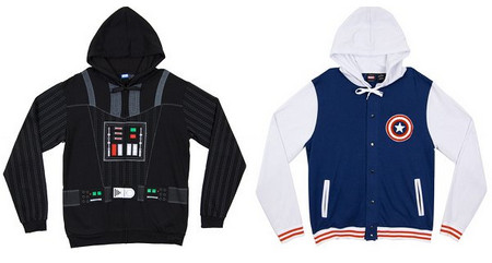 Darth Vader Hoodie, Iron Man Hoodie, Captain America Letterman Jacket and More