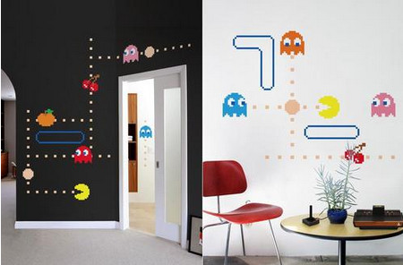 Blik Pac-Man Lives Wall Decal Series