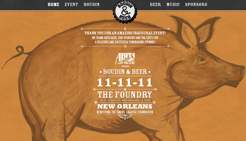 Abita Beer Presents Boudin&Beer