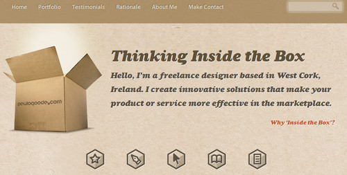 Paul Goode - Freelance Website and Graphic Designer