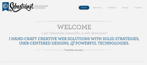 Welcome to the portfolio of Sebastian Jaramillo T