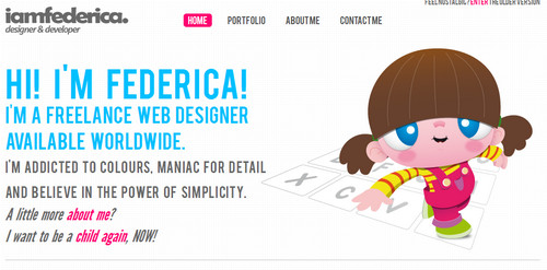 Federica Cau - Freelance Web Designer Portfolio