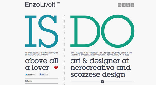 Enzo Li Volti - creative web and graphic designer