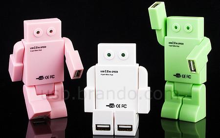 Robot 4-Port Hub