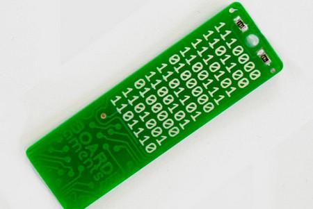 Secret Code USB Circuit Board Keychain