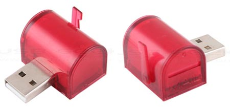 USB Mail Box Friends Alert