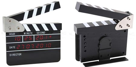 USB Film Action Board LED Clock