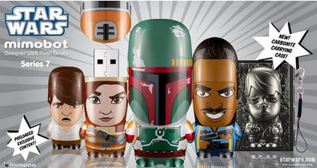 Mimoco Star Wars Series 7 Mimobot USB Flash Drives