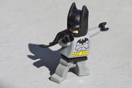 4GB Batman flash drive recycled upcycled Lego mini figure USB memory stick Mac Pc