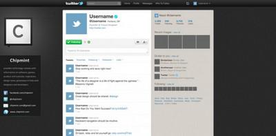 Twitter PSD Template
