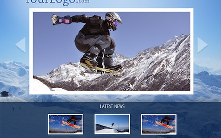 SNOWBOARD STORE PSD LAYOUT